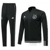 Tuta Calcio Ajax 2019 2020 Nero Bianco