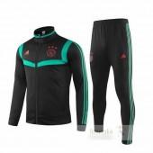 Tuta Calcio Ajax 2019 2020 Nero Verde