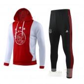Tuta Calcio Ajax 2019 2020 Rosso Bianco