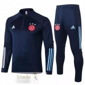 Tuta Calcio Ajax 2020 2021 Blu