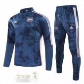 Tuta Calcio Arsenal 2020 2021 Blu Rosa