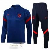 Tuta Calcio Atletico Madrid 2021 2022 Blu Navy