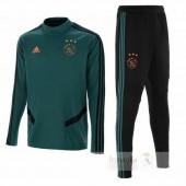 Tuta Calcio Bambino Ajax 2019 2020 Verde Nero