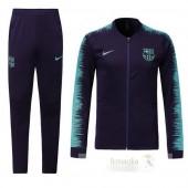Tuta Calcio Bambino Barcellona 2018 2019 Nero Blu