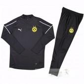 Tuta Calcio Bambino Borussia Dortmund 2018 2019 Nero