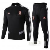 Tuta Calcio Bambino Juventus 2019 2020 Nero Arancione