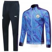 Tuta Calcio Bambino Manchester City 2019 2020 Porpora