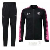 Tuta Calcio Bambino Paris Saint Germain 2018 2019 Rosa Nero