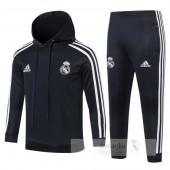 Tuta Calcio Bambino Real Madrid 2018 2019 Bianco Nero