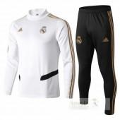 Tuta Calcio Bambino Real Madrid 2019 2020 Bianco Negr