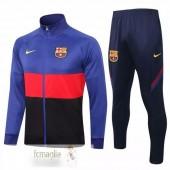 Tuta Calcio Barcellona 2020 2021 Blu Rosso Nero