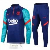 Tuta Calcio Barcellona 2020 2021 Blu Verde Rosso