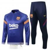 Tuta Calcio Barcellona 2020 2021 Blu