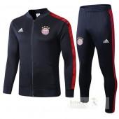 Tuta Calcio Bayern Monaco 2019 2020 Blu Rosso