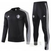 Tuta Calcio Belgio 2019 Nero Bianco