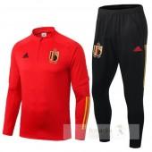 Tuta Calcio Belgio 2020 Rosso Nero