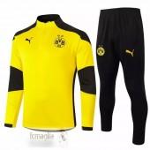 Tuta Calcio Borussia Dortmund 2020 2021 Nero Giallo