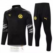 Tuta Calcio Borussia Dortmund 2020 2021 Nero Grigio