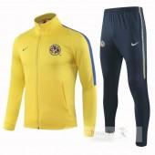 Tuta Calcio Club América 2018 2019 Giallo Blu