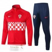Tuta Calcio Croazia 2020 Rosso