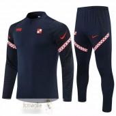 Tuta Calcio Croazia 2021 Blu Navy