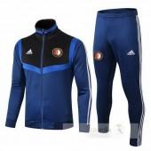 Tuta Calcio Feyenoord Rotterdam 2019 2020 Blu