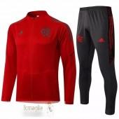 Tuta Calcio Flamengo 2021 2022 Rosso Grigio