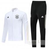 Tuta Calcio Germania 2020 Bianco Nero