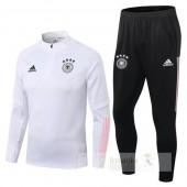 Tuta Calcio Germania 2020 Bianco Rosa Nero