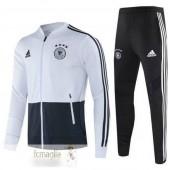 Tuta Calcio Germania Nero Bianco 2020