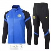 Tuta Calcio Inter Milan 2020 2021 Blu Nero Giallo