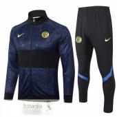 Tuta Calcio Inter Milan 2020 2021 Blu Nero