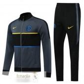 Tuta Calcio Inter Milan 2020 2021 Nero Grigio