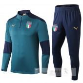 Tuta Calcio Italia 2019 Blu Verde