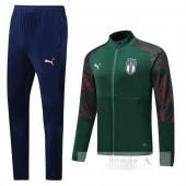 Tuta Calcio Italia 2019 Verde Blu