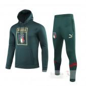 Tuta Calcio Italia 2019 Verde Giallo