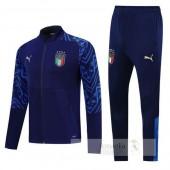 Tuta Calcio Italia 2020 Blu Navy