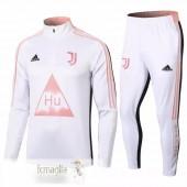 Tuta Calcio Juventus 2020 2021 Bianco Rosa