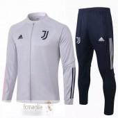 Tuta Calcio Juventus 2020 2021 Grigio Nero