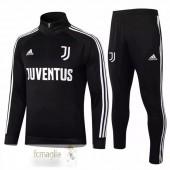 Tuta Calcio Juventus 2020 2021 III Nero Bianco
