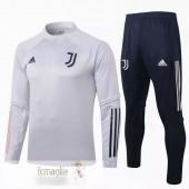 Tuta Calcio Juventus 2020 2021 Nero Grigio