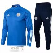 Tuta Calcio Leicester City 2021 2022 Blu Luce