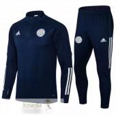 Tuta Calcio Leicester City 2021 2022 Blu Navy
