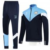 Tuta Calcio Manchester City 2019 2020 Blu