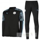 Tuta Calcio Manchester City 2019 2020 Nero Blu