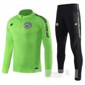 Tuta Calcio Manchester City 2019 2020 Verde