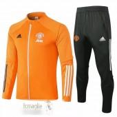 Tuta Calcio Manchester United 2020 2021 Arancione