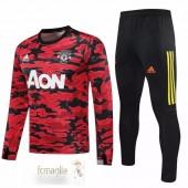 Tuta Calcio Manchester United 2020 2021 II Rosso Nero