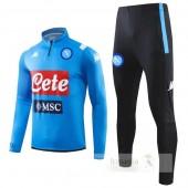 Tuta Calcio Napoli 2019 2020 Blu Luce Nero