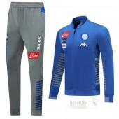 Tuta Calcio Napoli 2019 2020 Grigio Blu